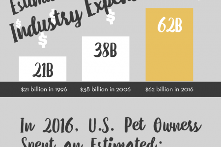 How Much Do People Spend on Pets Today? Infographic