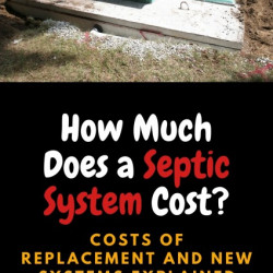 How Much Does a Septic Tank Cost