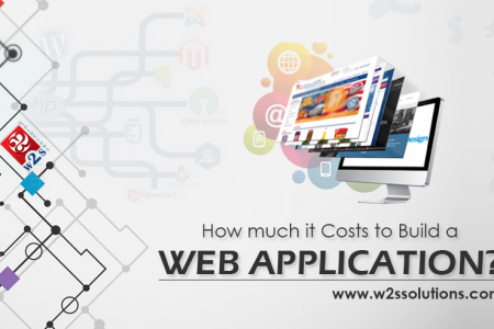 How much does it cost to build a Custom Web Application?  Infographic