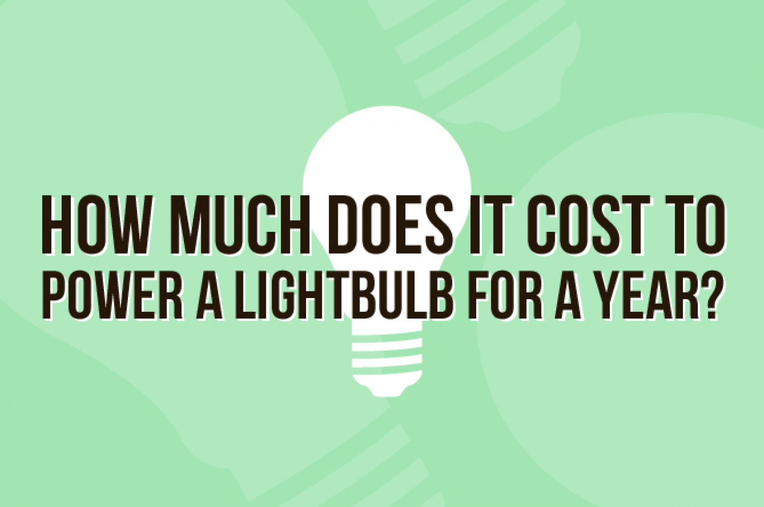 best 28 how much do light bulbs cost how much should you pay for leds and cfl bulbs how. Black Bedroom Furniture Sets. Home Design Ideas