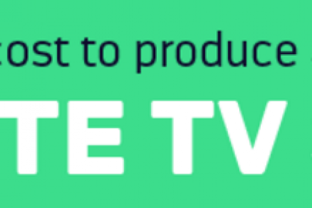 How Much Does It Cost To Produce Your Favorite TV Show? Infographic