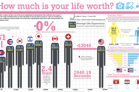 How Much is Your Life Worth? Infographic