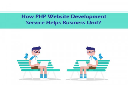 How PHP Website Development Service Helps Business Unit?  Infographic