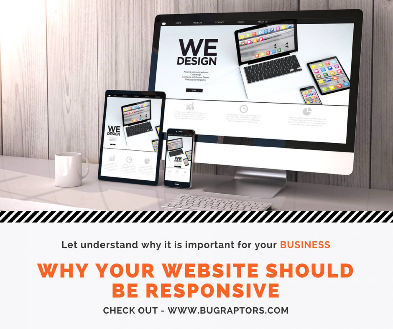 How Responsive Web Design Is Important For Your Business? Infographic