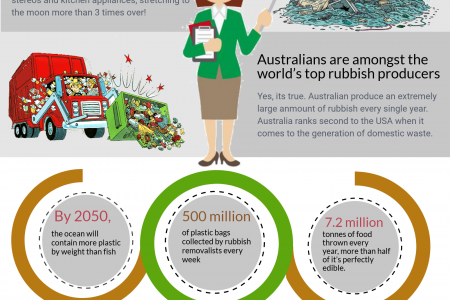 How Rubbish Affecting The Environment Infographic