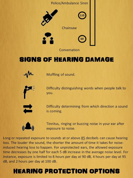 How Shooting Affects Your Hearing Infographic