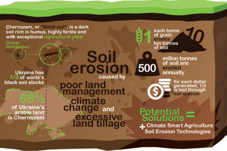 How soil erosion destroyes