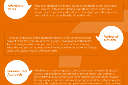 How students can make the most of online tutoring? Infographic