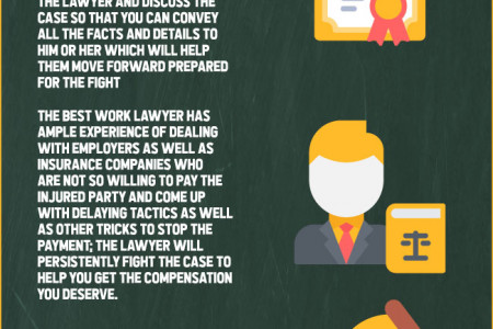 How the Best Work Injury Lawyer Ensures the Best Results Infographic