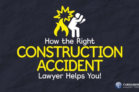 How the Right Construction Accident Lawyer Helps You Infographic
