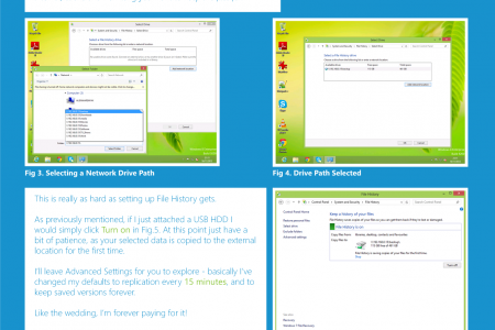 How to - Windows 8 File History Infographic