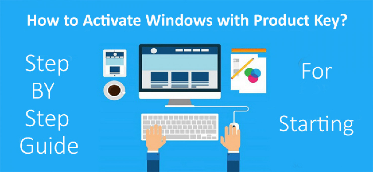 How to Activate Windows with Product Key? Infographic