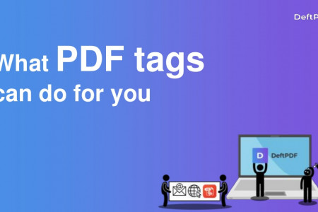 How to add tags on your PDF Infographic