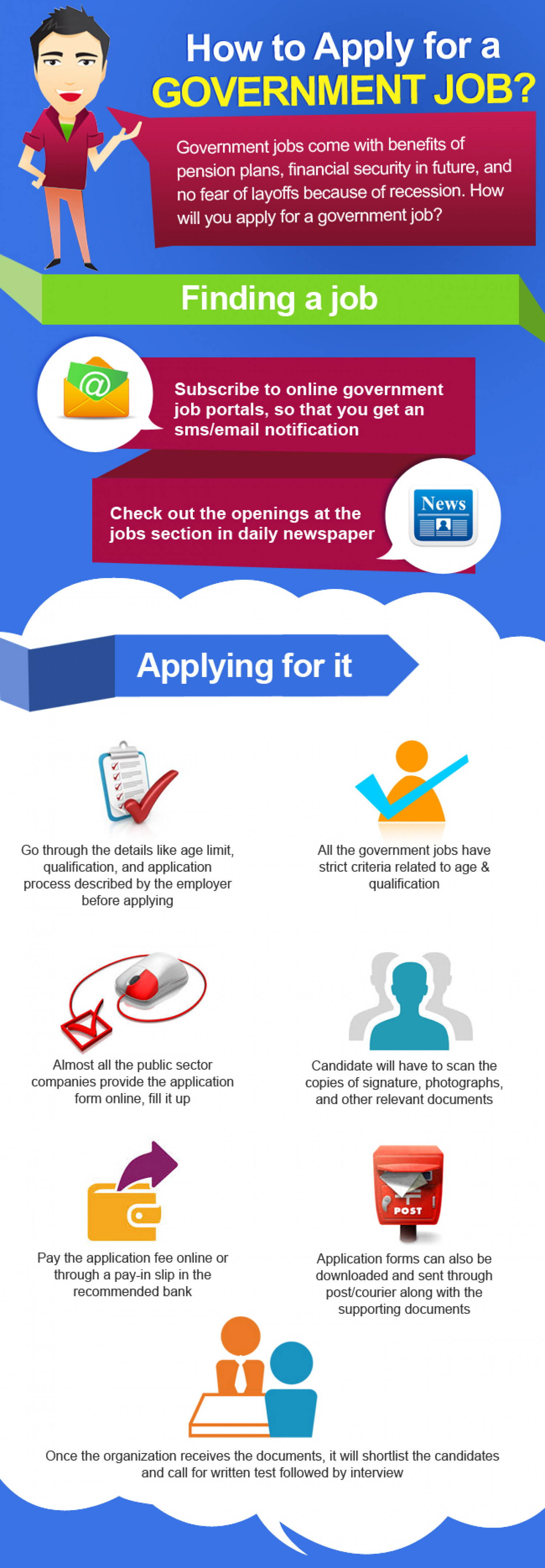 How to apply for a government job visual how to apply for a government job infographic falaconquin