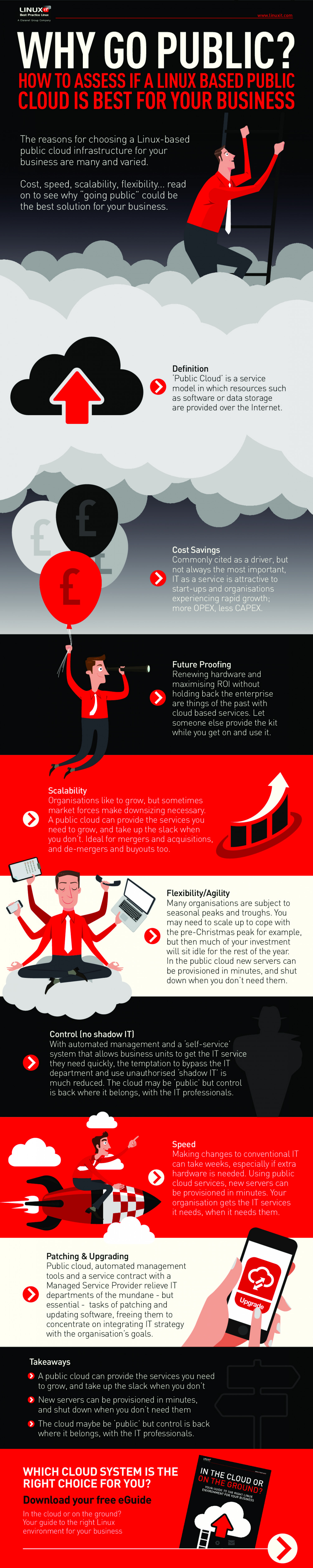 How to Assess If a Linux Based Public Cloud Is Best for Your Business Infographic