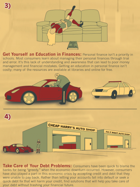 How To Avoid Debt Traps Infographic
