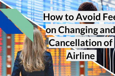 How to Avoid Fee on Changing and Cancellation of Airline Infographic