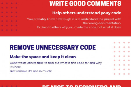 How to be a great developer - tips by www.duomly.com Infographic