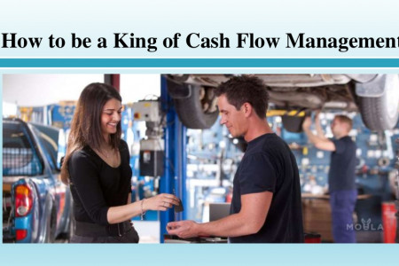 How to be a King of Cash Flow Management Infographic