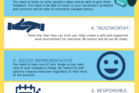 How to Be a Role Model Employee in the Workplace? Infographic