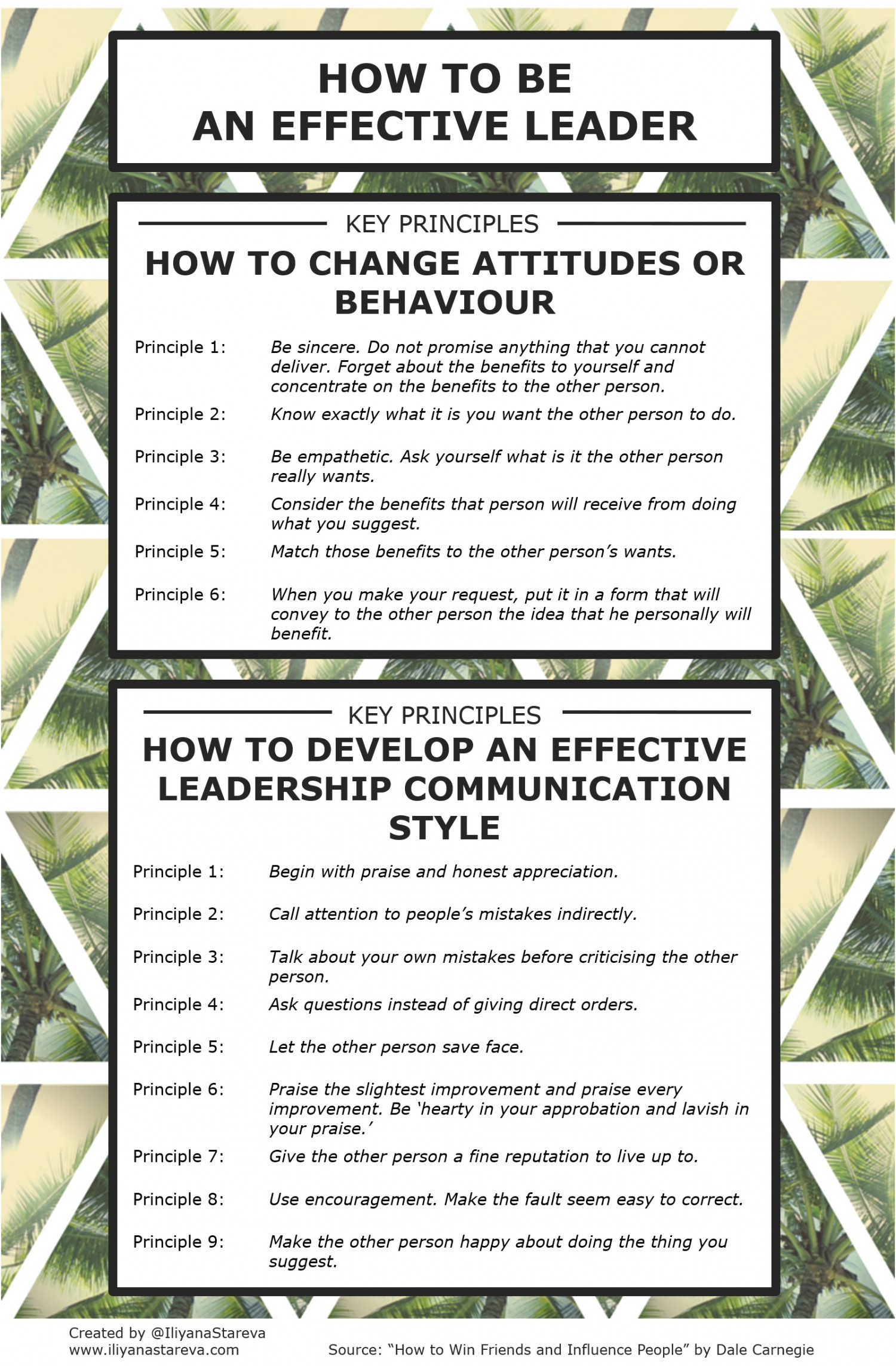 How to be an Effective Leader [Infographic] Infographic