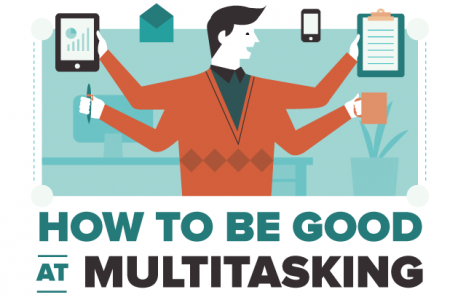 How To Be Good At Multitasking Infographic