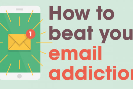 How To Beat Your Email Addiction Infographic