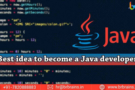 How To Become A Java Developer In A Smarter Way Infographic