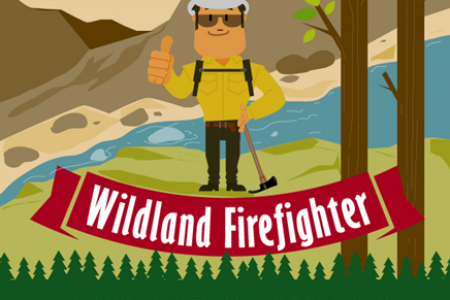 How to Become a Wildland Firefighter Infographic