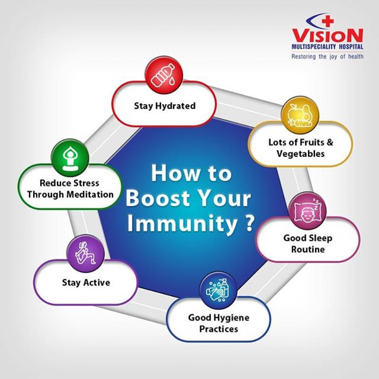 How to boost Immunity  Infographic