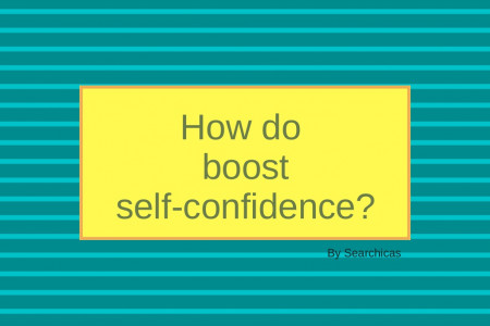 How To Boost Self Confidence Infographic