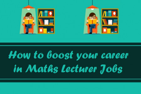 How to boost your career in Maths Lecturer Jobs Infographic