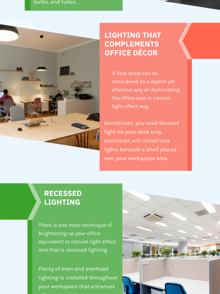 How To Brighten Up Your Office Space Infographic