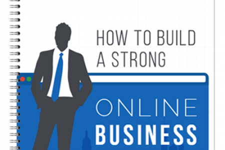 How to Build a Strong Online Business Presence Infographic