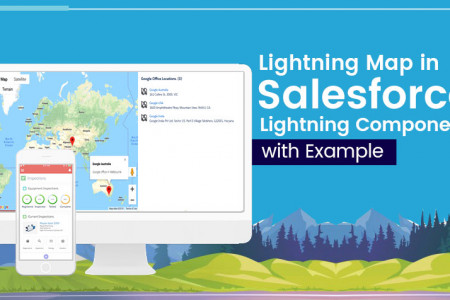 How to Build Lightning Map in Salesforce? Infographic
