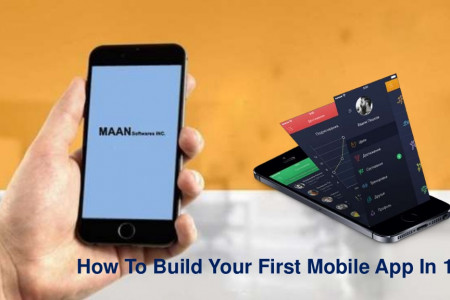 How to build your first mobile app in 12 steps Infographic