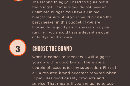 How to buy sneakers Infographic