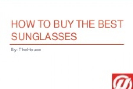 How to Buy the Best Sunglasses Infographic