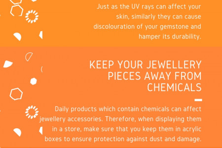 HOW TO CARE FOR JEWELLERY PIECES IN A GEM STORE? Infographic