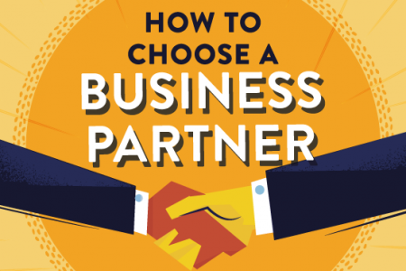 How To Choose a Business Partner Infographic