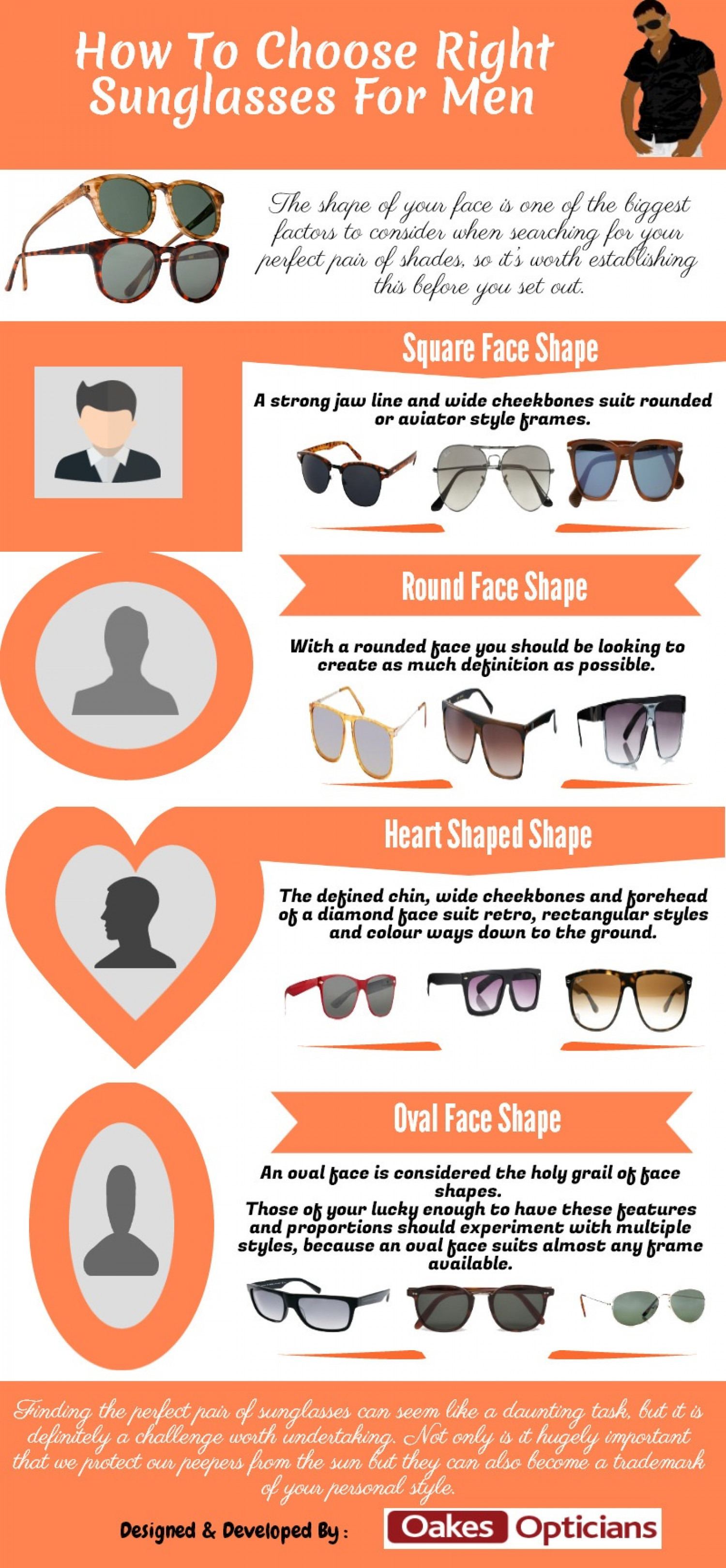 How To Choose Right Sunglasses For Men