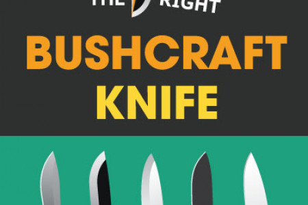 How to choose the Best Bushcraft Knife Infographic