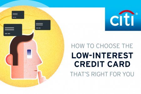 How to choose the low interest credit card that's right for you Infographic