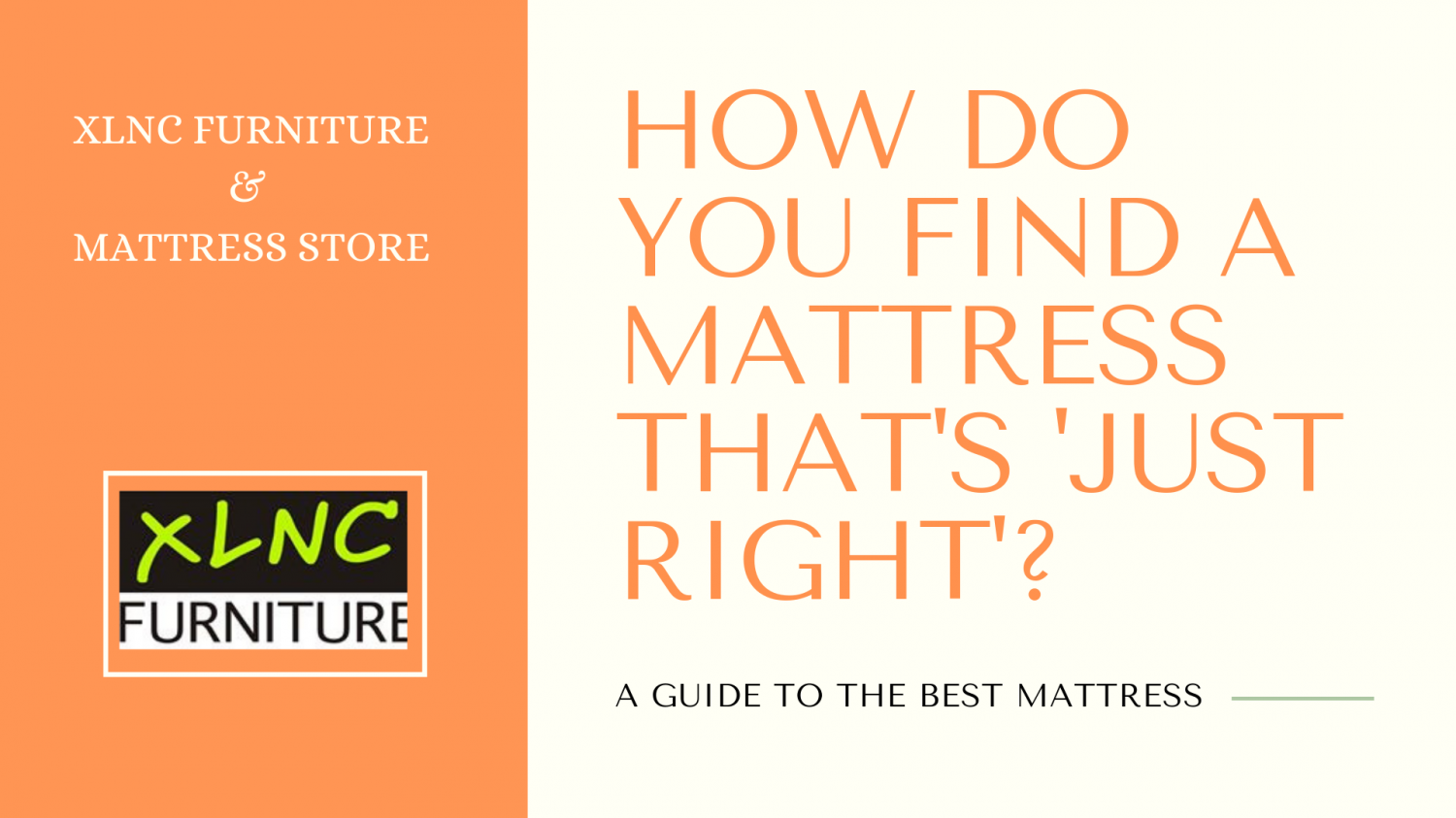 How To Choose The Perfect Mattress - Tips by Mattress Experts in Calgary Alberta Infographic