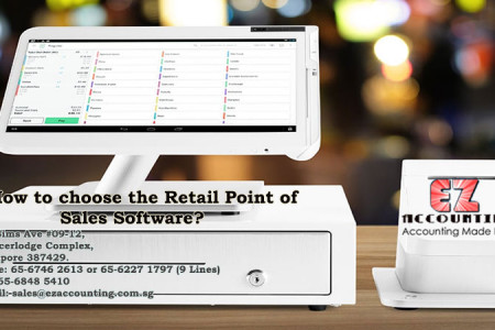 How to choose the Retail Point of Sales Software? Infographic