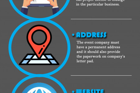 How to Choose the Right Event Management Company? Infographic
