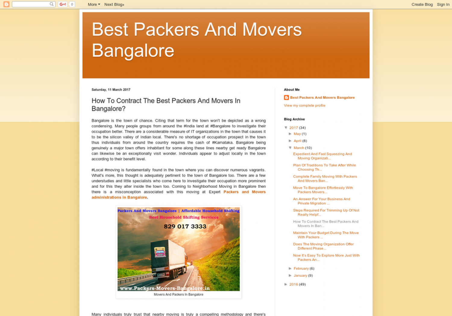 How To Contract The Best Packers And Movers In Bangalore? Infographic