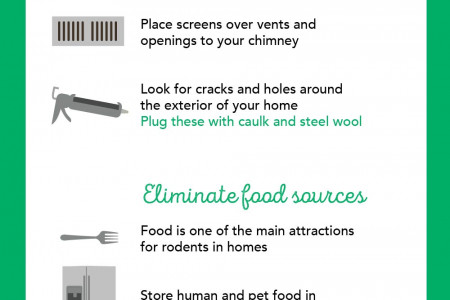 How to Control a Rodent Problem Infographic