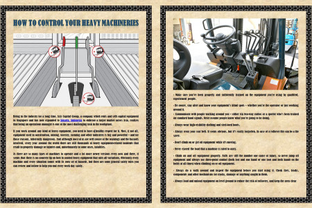 How to Control Your Heavy Machineries Infographic