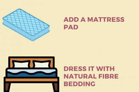 How to Cool Your Memory Foam Mattress? Infographic